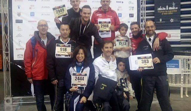 Maratón de Málaga y maratón de montaña en Cehegín